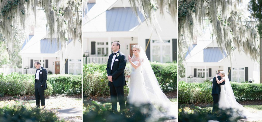 isle of hope first look photographer savannah