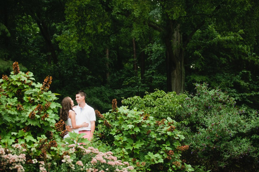 freedom park charlotte garden engagement t session