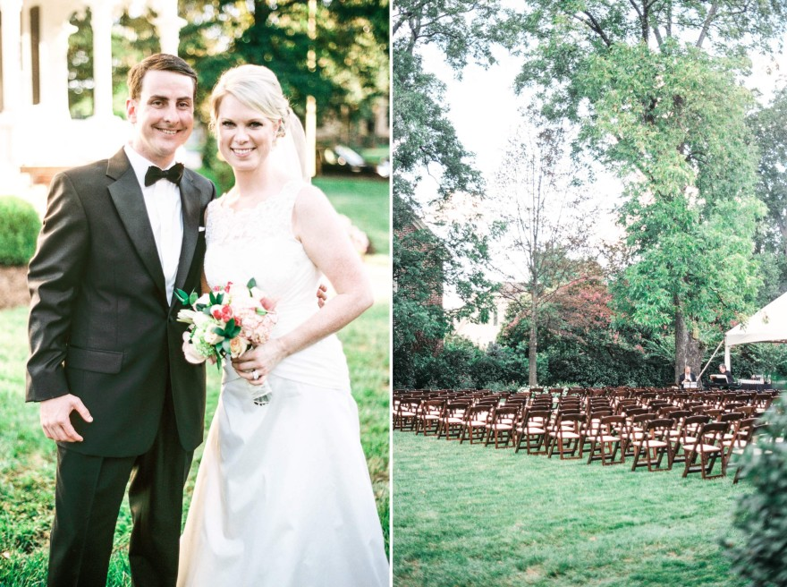 historic house wedding reception raleigh nc