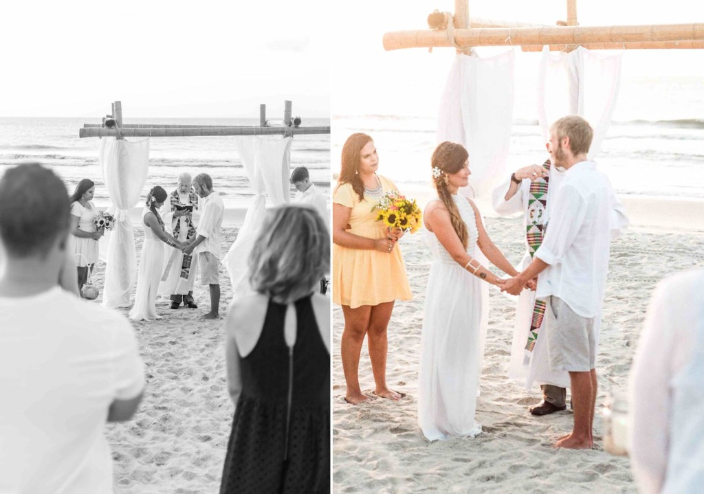 sunrise beach wedding north carolina