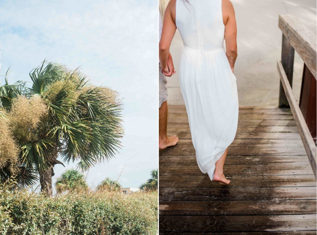 tropical wedding nc beach