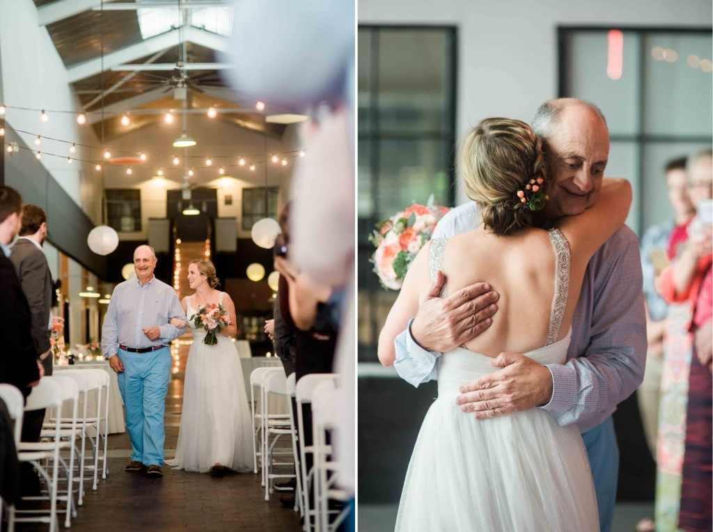 bride-and-father-walk-down-aisle-processional