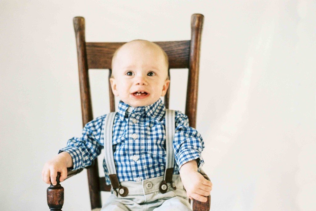 first birthday party rocking chair