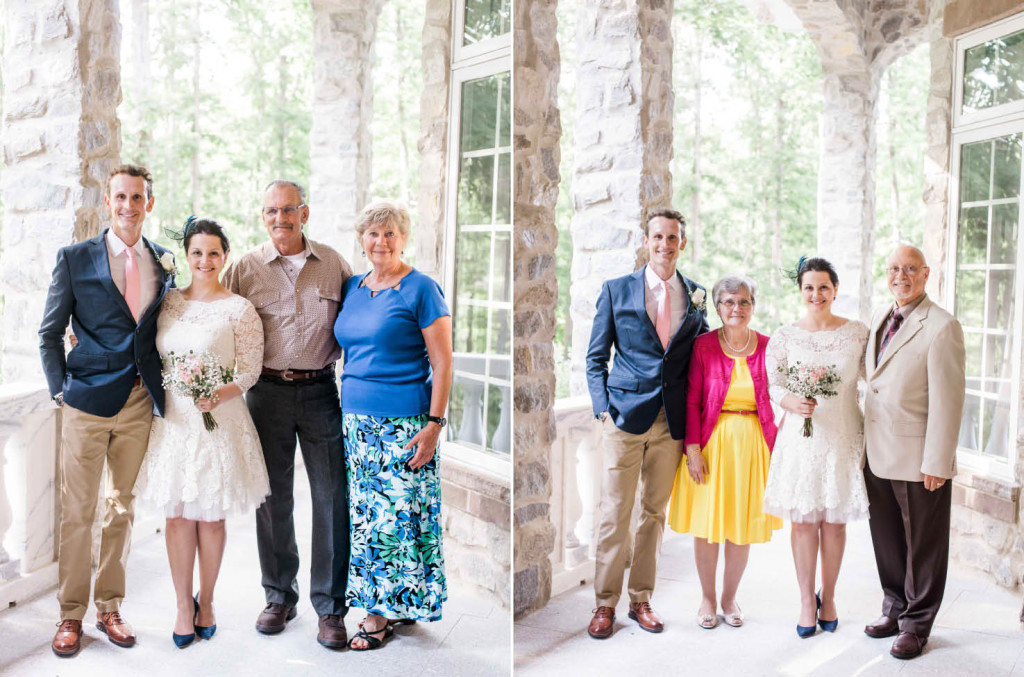 outdoor formal family photos wedding charlotte nc