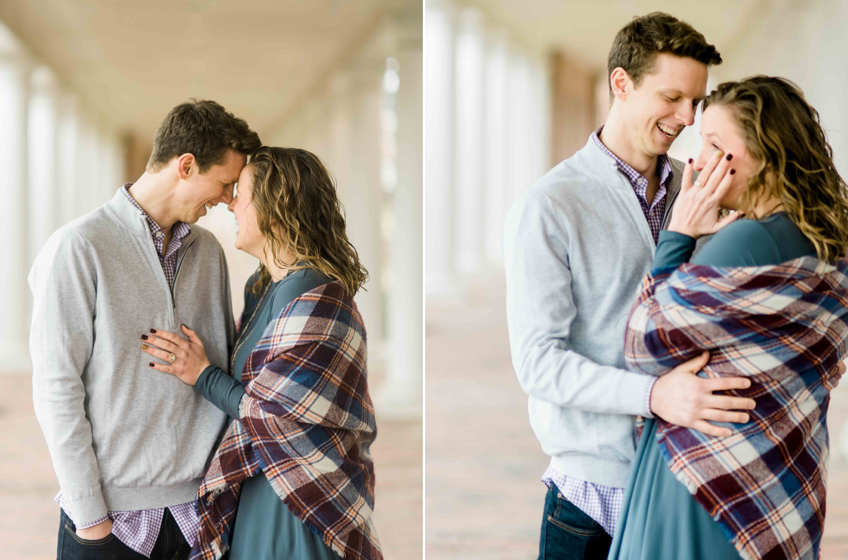 burlington engagement photographer greensboro nc proposal