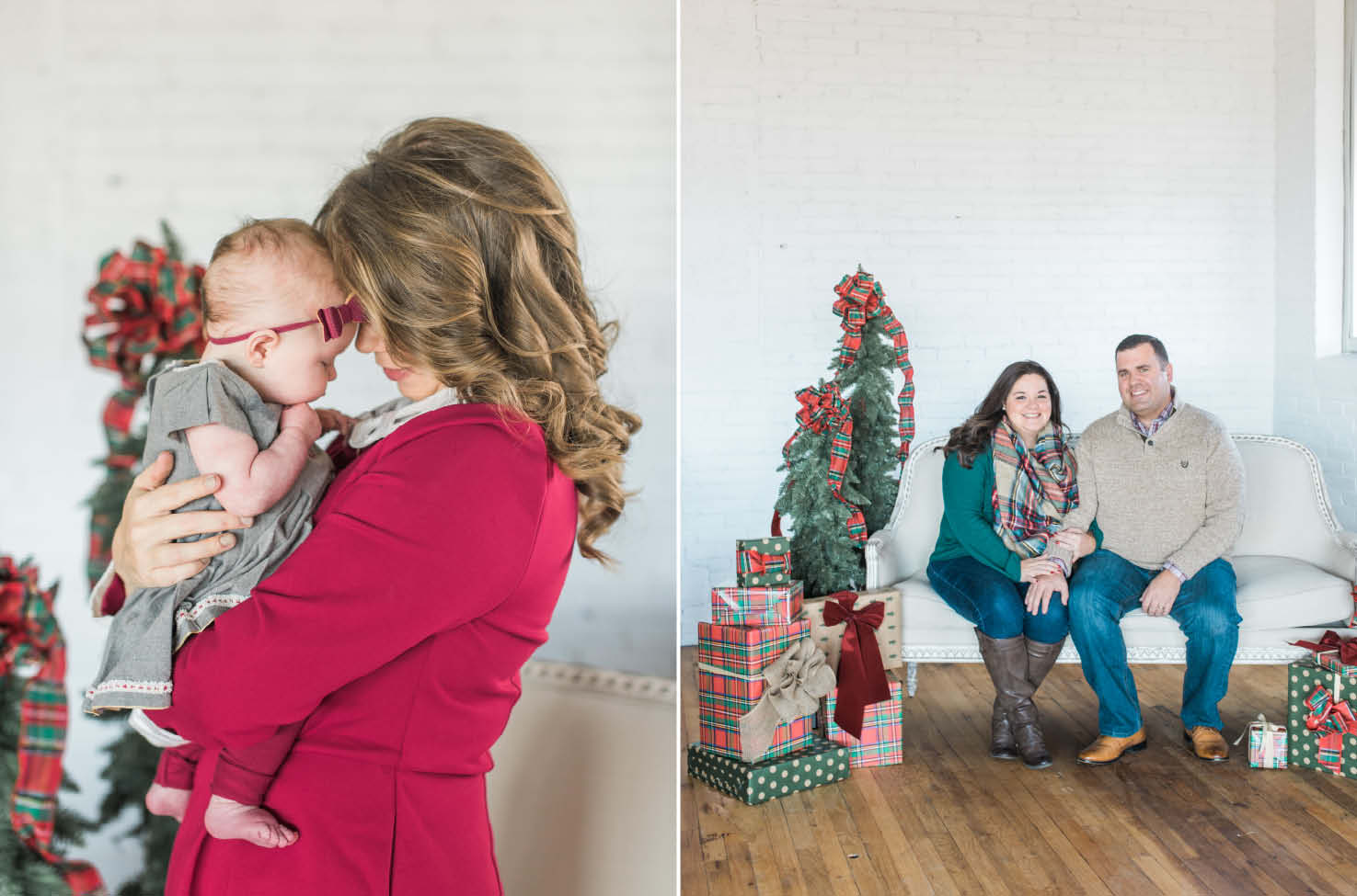christmas card photographer charlotte nc