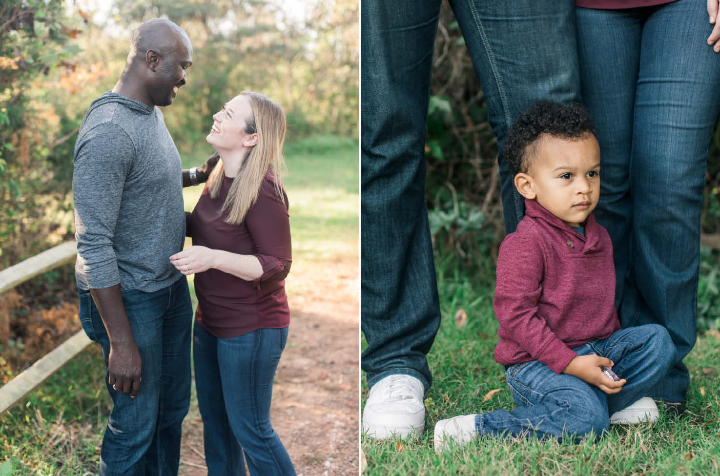fisher farm family session davidson nc